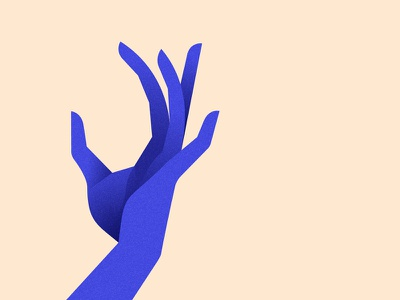 Hand study 01 hand design vector color minimalist illustration minimal character colors flat