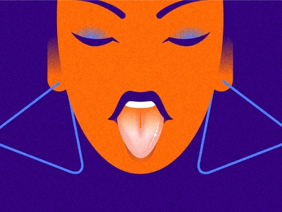 :p vector color girl woman minimalist illustration minimal character colors flat