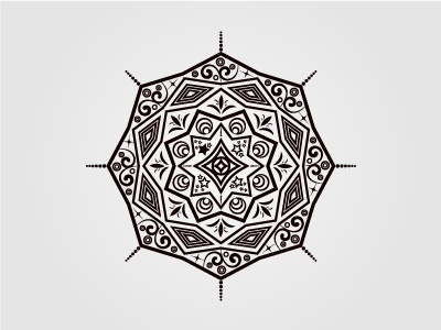 Mandala Patterns abstract decorative vector floral ornamental geometric circular design illustrator pattern mandala