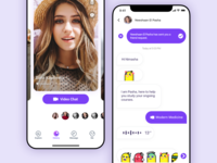video chat message