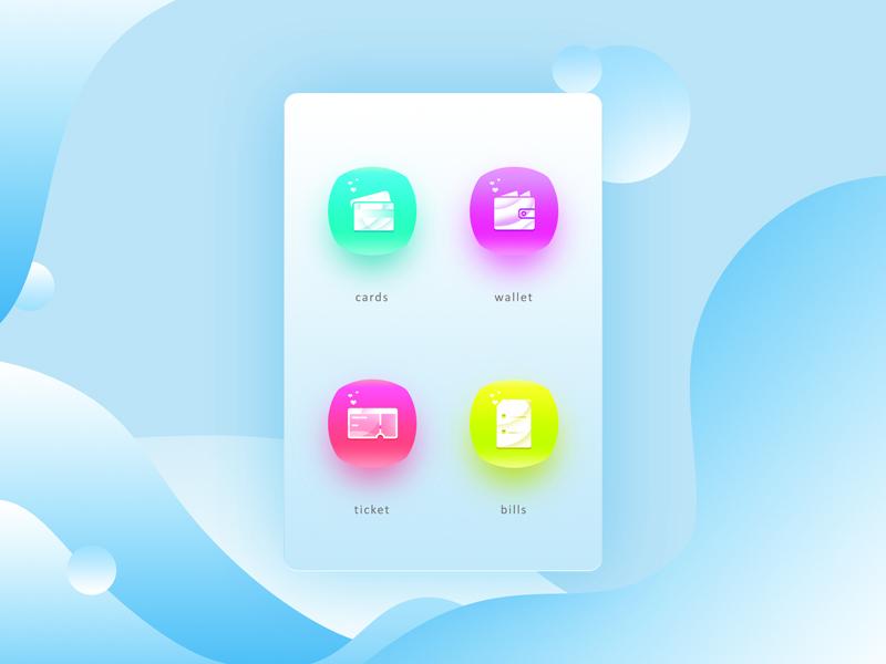 Icons (Fintech) vector icon cherry bubble candy