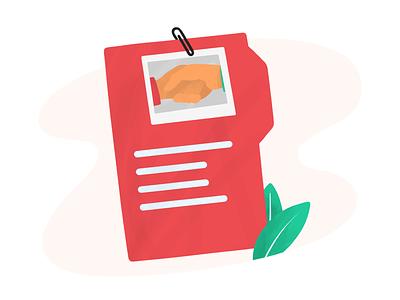 Insurance Contract insurance contract digital art procreate illustration anilemmiler