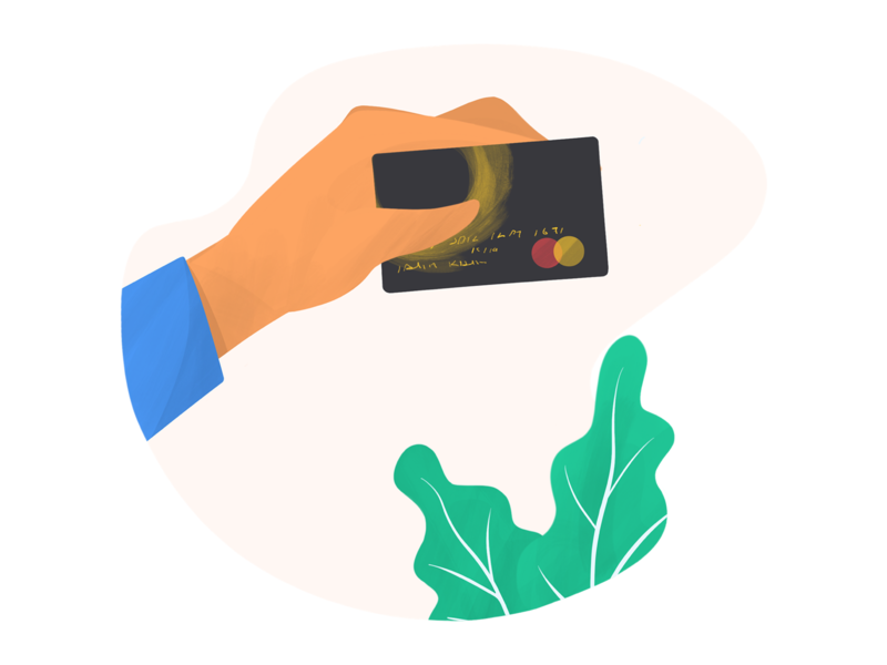 Credit Card bank card credit card creditcard digital art illustration anilemmiler