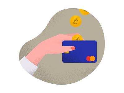 Credit Card save money credit card digital art procreate illustration anilemmiler