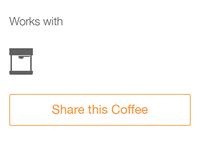 Coffeelog coffee sharing