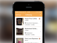 Coffeelog is live in the App Store!