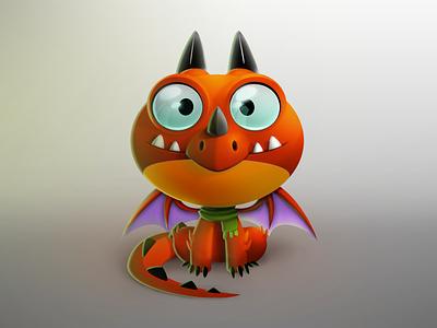 Dragon photoshop videogame red illustration suarez samuel game dragon