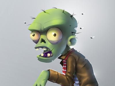 Zombie challenge generagames apps game videogame walkingdead plants illustration samuelsuarez zombie plantsvszombies