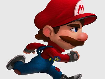 Super Mario Run videogame supermariorun draw mario suarez illustrationrunnewmariosamuel
