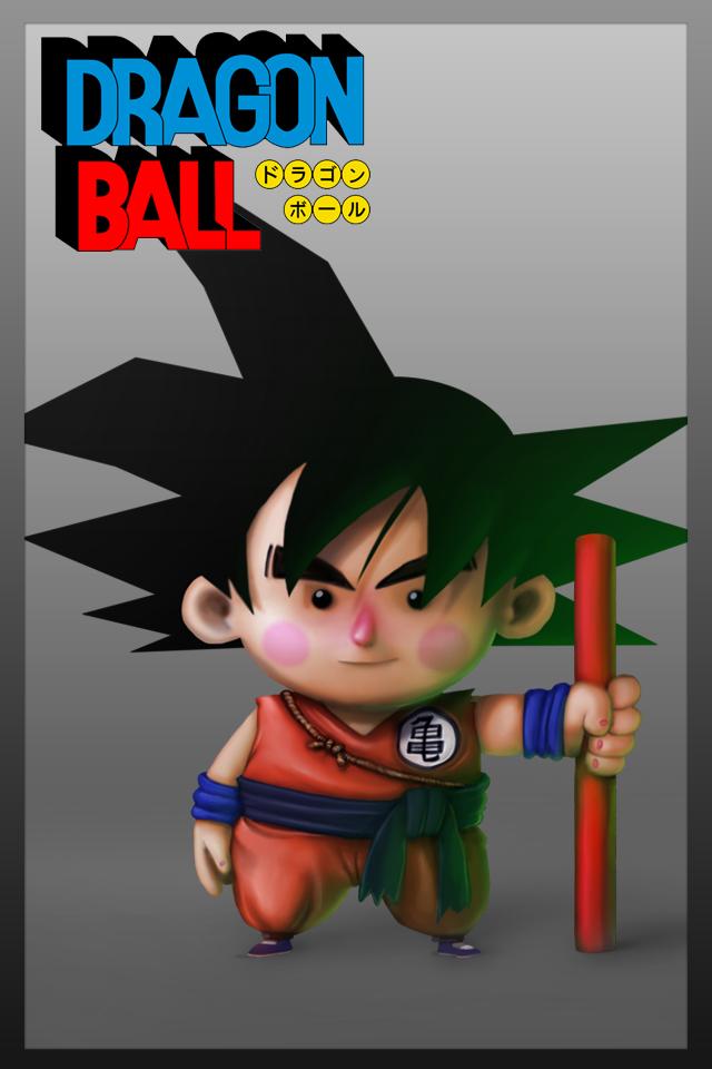 Goku iphone