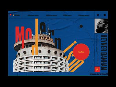 New Brutalism ui 404 page illustration web design