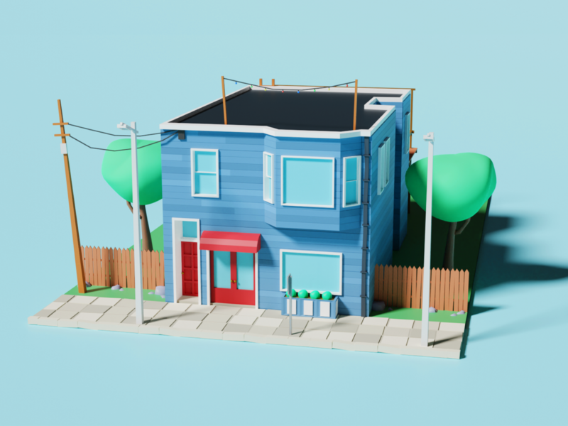 3D - San Francisco House