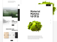 Home page - Material Matcha #1