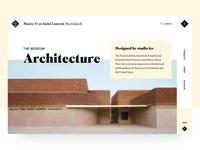 Musée YSL Marrakech - Architecture page