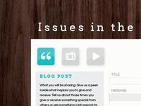 Blog Wireframes