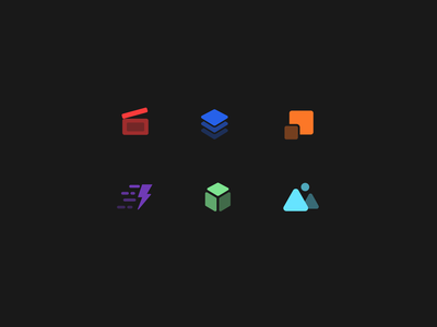 Software Icons icon icon exploration icons set iconsets c4d lightroom figma illustrator photoshop aftereffects software transparency iconography iconset