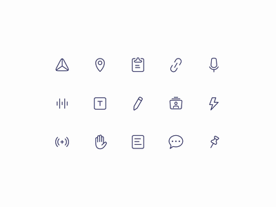 Slate Iconography grid layout icon design iconography grid icon grid icon set iconset icons icon interaction animation icon animation icon system clubhouse