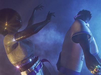 VEXOH — A Memory Capsule #7 animation funk disco glitter smoke 3d motion digital fashion dance motion 3d