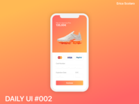 DAILY UI - #002 Credit Card Checkout