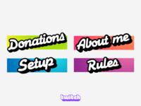 Twitch custom panels