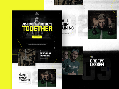 Milestone Homepage sports sport personal trainer gym fitness home page landing homepage