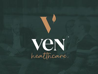 Ven Healthcare Logo redesign supplements medical doctor branding logo medicine healthcare health
