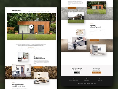Construmax Home (WiP) landing parallax homepage