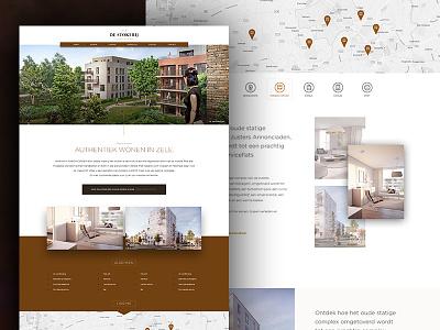 Stokerij project builders homepage landing home