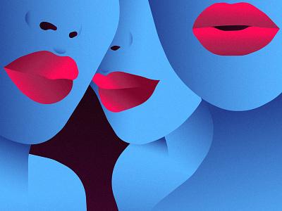Whispers girl vectorart sketch design color drawing illustrator vector illustration