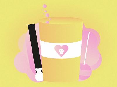 Sweet & pink pink doodle gradiant drawings sketch graphicdesign vectorart design color drawing illustrator vector illustration