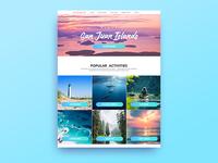 San Juan Travel--Desktop Website (Update!)