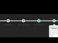 Timeline for a stealth social app