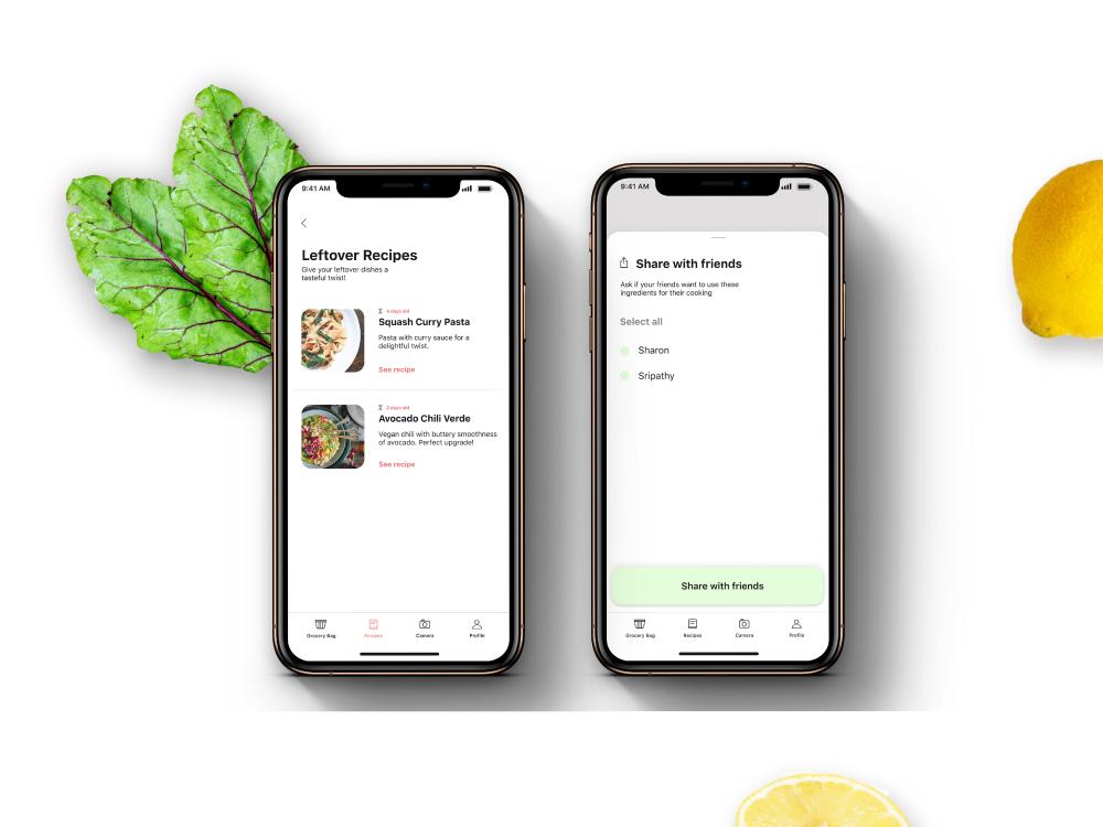Smart Meal App typography ui app design ux design