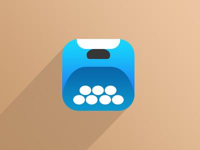 iOS7 Typewriter