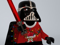 Even Darth Vader loves December