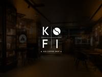 KOFI- Bio Coffee Shop Brand