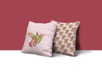 BIRD 3D-2D ILLUSTRATION -Pillow Application