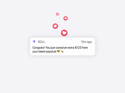 Push Notifications ios figma product design