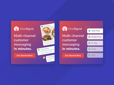 OneSignal Multi-channel Messaging Ads ad