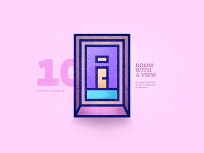 Room With A View – 10 portal window texture scenic vector room view peru landscape illustration country 2d