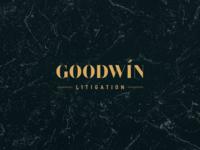 Goodwin Litigation Logo Design