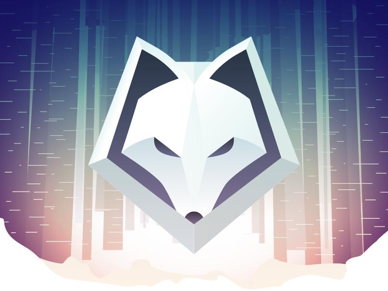 Winterfox Team Branding logo branding esports winterfox