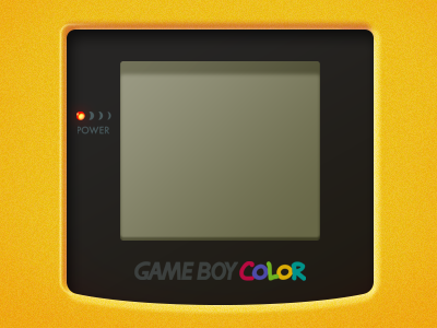 Gameboy Color Lockscreen Wallpaper