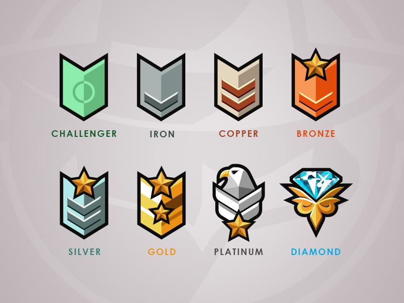 SCL Rank Badges badges branding logo spyparty