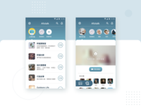 Social Network & Community List