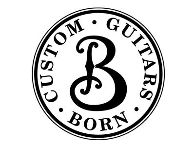 Born Custom Guitars Logo