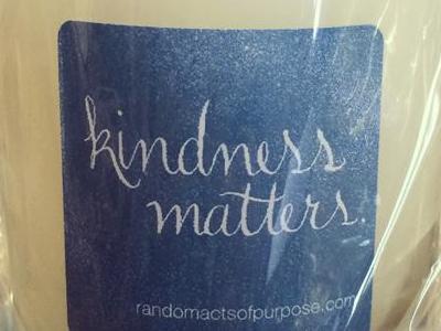 Kindness Matters Label Lettering