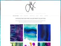 Leslie M Ward Art & Design Website Launch
