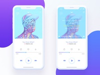 Music player Interaction effect