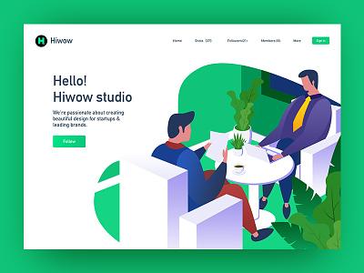 Hiwow Studio china hello team web studio hiwow